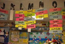 *Word Walls* / Word wall ideas and activities. / by Conolley *Third Grade Rock Star*