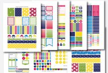 Printable Planner Stickers - Etsy