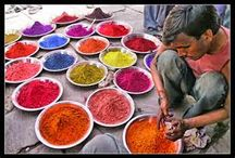Indian Spice market inspiration / Gathering visual inspirations for a multimedia collaboration.