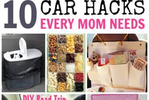 Car Hacks / Cool things related to organizing, cleaning, and improving your car!