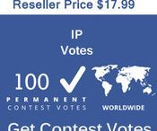 Buy IP/Single Click Votes / Buy Online Votes for any kind of Contest. Buy IP Votes