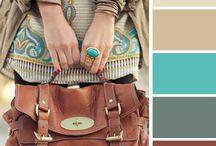 Paletas de colores para vestuario