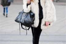 Fur street style / Fur street style