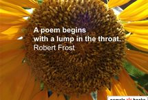 Quotes about Poetry / Words of wisdom about poems, poets & poetry