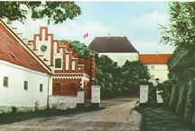 Historical pictures of Dragsholm Slot / Here is a couple of historical painted pictures of Dragsholm Castle. Photos by: Bay postcards.