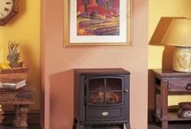 Electric Stoves / Enjoy the character and warmth of a stove in your home, without having to add fuel such as coal or wood thanks to electric stoves. Made from the finest cast iron construction, you can enjoy your stove's highly realistic log-effect in a variety of rooms- without the need of a chimney!