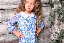 Шьем детям / Модель платья для девочки