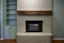fireplace mantle redo / by Carrie Gillespie Larsen