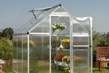 Greenhouse Love! / Greenhouses are a great way to garden year round!