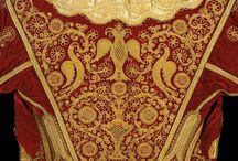 gold thread embroidery