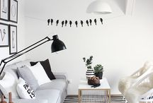 B&W room ideas