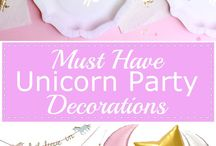 Unicorn-themed party