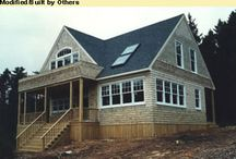 Maine house plans / A collection of house plans in an attempt to identify my dream house for Maine.  / by Stephanie Meik