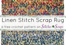 Crochet Rugs / Free crochet patterns for rugs