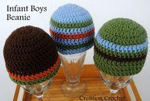Crochet beanies / Free crochet