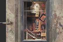 Miniatures - Dioramas - Cabinets of Curiosties