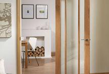 Prefinished Glazed Door & Frame Set Kits - DirectDoors DSK Range