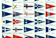 Bandeiras clubes nauticos