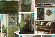 green with envy / all green decors and designs