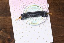 Stampin' Up! / Cards & projects made with Stampin' Up! products