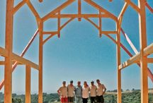 Trusses by Timberworks / We're asked to design and build quite a variety of styles of truss; here are a few examples.