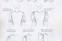 nápady pre módne skice a tvorbu modelov