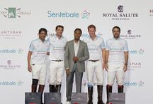 Sentebale Polo Cup / Huntsman Sponsors the Sentebale Polo Cup, Abu Dhabi. Kits designed by Creative Director, Roubi L'Roubi.