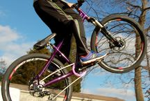 Kids Jump Bike / Trailcraft Pineridge 24 built as a jump bike.