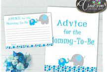 Baby Shower Boy Games Elephant Aqua Blue, Invitations, Decorations and more... / Hi, thank you for visiting this beautiful baby shower board with elephant aqua blue theme. Here you can find a lot of baby shower decorations and activities with over 40 listings in this theme.
