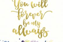 QUOTES | Lettering Inspiration