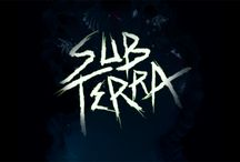 Sub Terra Artwork / Sub Terra is a cooperative survival horror board game. You and up to five friends are trapped deep underground. You must quickly explore a hazardous tile-based cave system to find the way out before your flashlights die and you're lost in the darkness forever. And worst of all, you don't think you're alone down here...  Find out when it launches on Kickstarter here: http://eepurl.com/b6oNxf