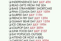Fun Monthly Holidays!