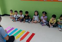 """Reps Nursery students learn about colors"""