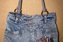 сумка джинса