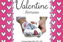 Speech Therapy: February & Valentine's Day / by Mindy Sweat