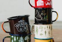 mugs and utensils
