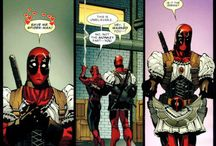 "Inspiration for ""These Comic Panels Prove Deadpool Is The Funniest Superhero In The Game"""