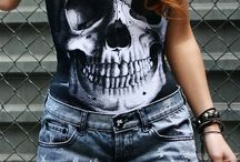Skull Clothing  / by Julicia 💎💋👑