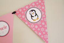 Party theme - Penguin