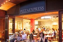 {Pizza Express} / Italy is the undisputed home of the pizza, in all its thin-crusted glory. And in the UK, Pizza Express is the king of delicious pizzas cooked in a traditional bread oven.  For over 40 years, Pizza Express has been passionate about bringing the taste of real Italian pizzas to British tables. Using fresh ingredients and exciting topping combinations, they'll create your perfect pizza.