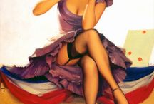 Pin Up ❤ Playing Cards