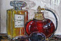Nathalie Chiasson / artiste-peintre / professional artist -- pour liste des galeries visiter / for list of Art Galleries visit www.multi-art.net