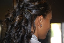 Wedding Hairstyles / As a bride, deciding how to wear your hair on your wedding day is as significant a decision as selecting your dream dress or finding the perfect accessories. Your bridal hair should compliment your overall ensemble while staying true to your personal style. A classic stunning wedding hairstyle can run the gamut from sleek and chic to elaborate and elegant. Embellish the look even further by incorporating flowers, jewels or other wedding hair accessories… while browsing this wedding board I hope these images will help in your quest to find a fabulous coiffure for your special day.