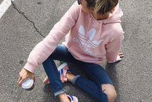 Jeans & hoodie
