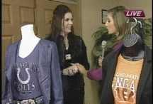 Kickoff This NFL Season in Style! / You can Sheer on your team while looking stylish!  Kimberly pairs up NFL gear for women with all the hottest looks for Fall. / by Kimberly Anderson