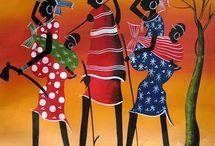 Tinga art African