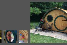 Multiuse Hobbit Holes / by Wooden Wonders Hobbit Holes