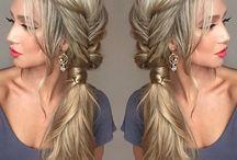 Bridesmaid hair updos