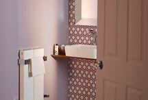 Towel Rails: White