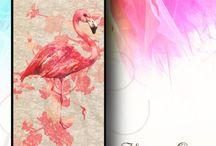 Flamingo Bird Phone Case